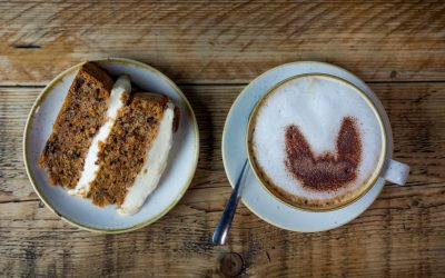 Kick back with coffee & cake at The Kitchen restaurant